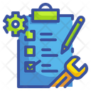 Checklist List Document Icon