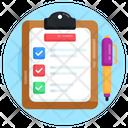 Task List Checklist Plan List Icon