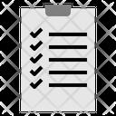 Checklist Plan Check Paper Seo Web Seo Web Icon
