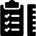 Checklist Ruler Todo Icon