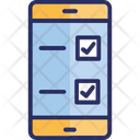Checklist Mobile Assistance Online Testing Icon