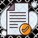 Checklist Report Catalogue Icon