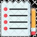 Checklist Todo List Paper Icon