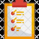 Checklist Work Order Document Icon