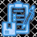 Checklist List Clipboard Icon