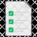 List Checklist Todo Icon