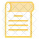 Checklist Document Interface Icon