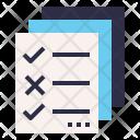 Kpi Checklist Rule Icon