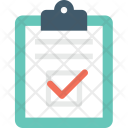 Checklist Tick Clipboard Icon