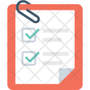 Checklist Attachment Task Icon