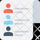 Checklist Profiles Human Icon