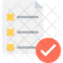 Checklist Diet Plan Icon