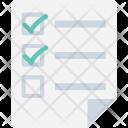 Checklist File Documents Icon