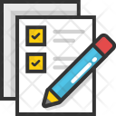 Checklist Documents List Icon