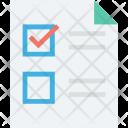 Checklist Tick Vote Icon