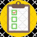 Checklist Diet Plan Icon