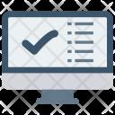 Check Tick List Icon