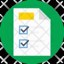 Checklist List Agenda Icon