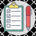Checklist Quality Notes Icon