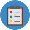 Clipboard Medications Prescriptions Icon