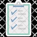Checklist Report Shopping Icon