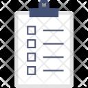 Plan Checklist File Icon