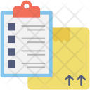 Checklist Shipping Package Icon