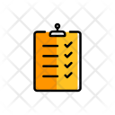 Checklist List Delivery Icon