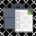 Checklist Portfolio Business Icon
