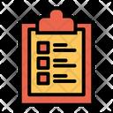 Checklist Clipboard Icon