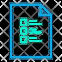 Checklist Document Icon