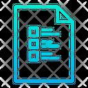 File Checklist List Icon