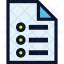 File Document List Icon