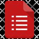 Checklist file Icon