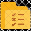 Checklist Folder Icon