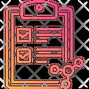 Checklist Molecule Icon