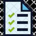File Document Checklist Icon