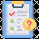 Checklist Question Icon