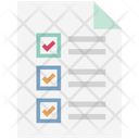 Checklist Report  Editab Icon