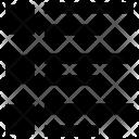 Checklsit Menu Align Icon