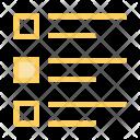 Checklsit Menu Text Icon
