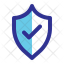 Checkmark Protected Secure Icon