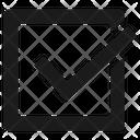 Checkmark Complete Ok Icon