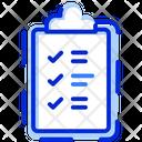 Checkmark Clipboard Task Icon