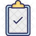 Complete Done Todo List Icon