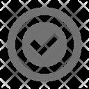 Checkmark Right Confirm Icon