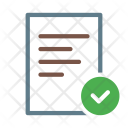 Checkmark Done Selected Icon
