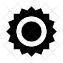 Checkmark Glossy Badge Icon