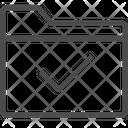 Checkmark Folder Icon
