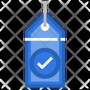 Checkmark Tag Icon